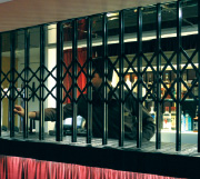 Retractable Grilles available from Shutter Spec Security in Thame, Oxfordshire