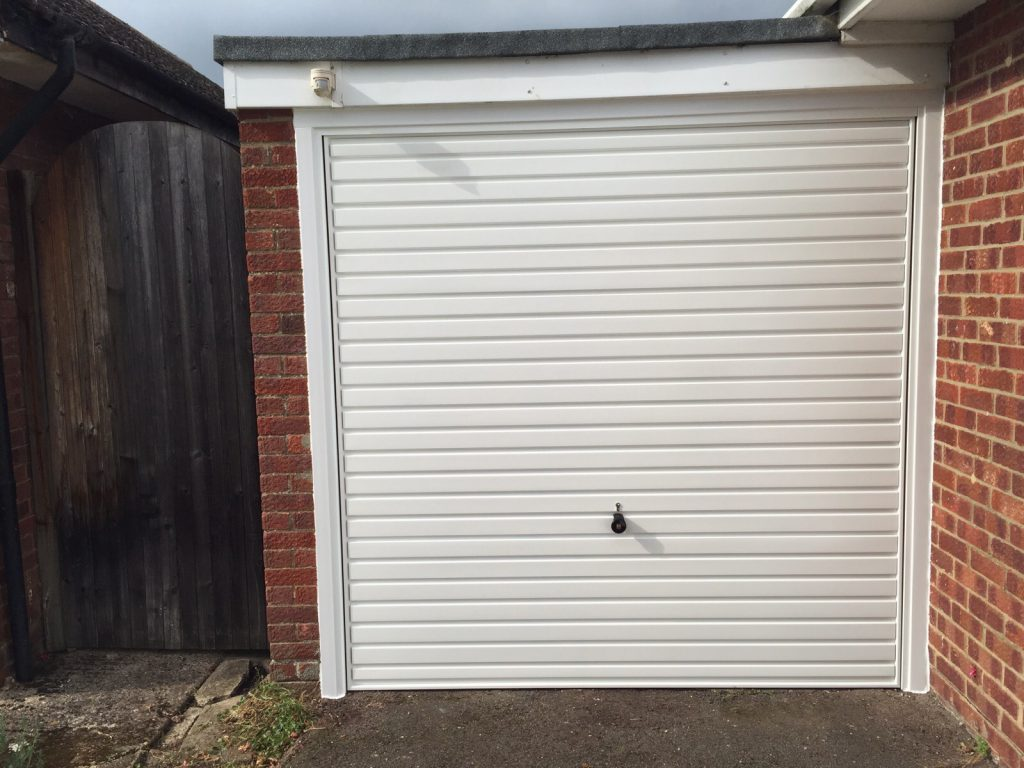 Horman Up and Over Garage Door fitted in Thame, Oxfordshire by Shutter Spec Security