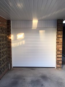 SWS Seceuroglide Roller Garage Door fitted by Shutter Spec Security, Thame, Oxfordshire