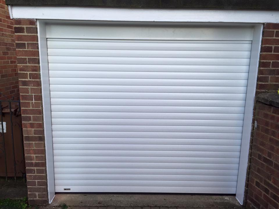 electric roller door thame oxfordshire fitted by Shutter Spec Security