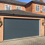 Double SeceuroGlide Roller Garage installed in Aylesbury, Buckinghamshire by Shutter Spec Security