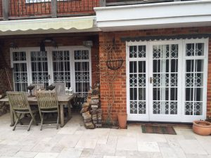 SeceuroGuard Retractable Grilles installed in Henley, Oxfordshire by Shutter Spec Security