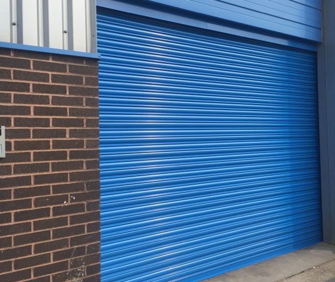Industrial Steel Shutters