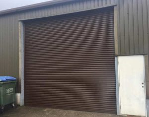Seceurodoor Industrial Steel Shutter Door