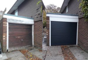 Manual Roller Garage Door