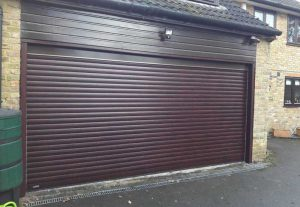 Seceuroglide Electric Double Roller Garage Door