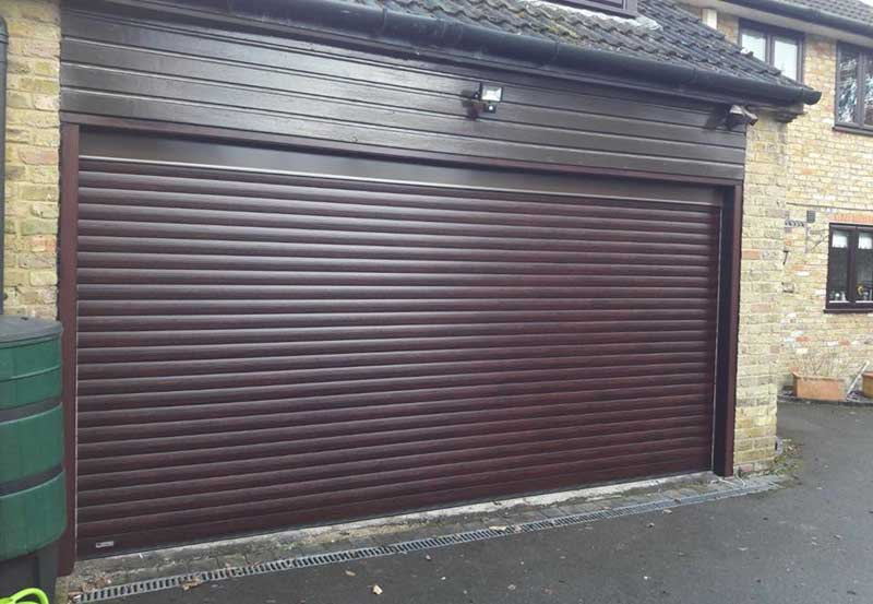 Seceuroglide Electric Double Roller Garage Door